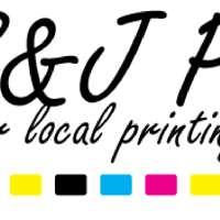 S & J Printing  logo