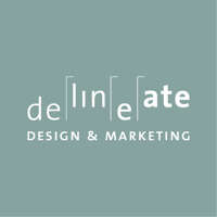 Delineate Design and Marketing logo