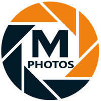 M PHOTOS logo