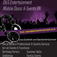 D&S Entertainment Mobile DIsco