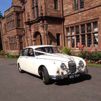 classic wedding cars cheshire logo