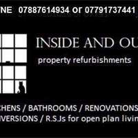 INSIDE & OUT property refurbishments logo