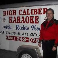 High Caliber DJ/Karaoke with Richie Hodge logo