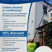 Free flow gutters
