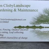Ben clisby gardening