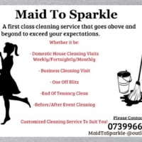 Maid To Sparkle