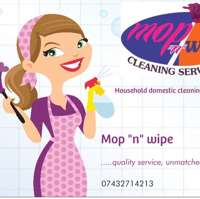 "Mop ""n"" wipe Cleaning Services"