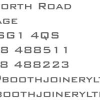 Booth Joinery Ltd