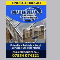 quality clean property maintenace