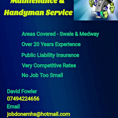 Job Done Maintenance & Handyman Service