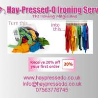 Hay-Pressed-O Ironing Service