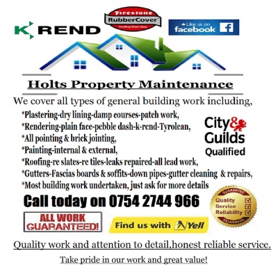 Holts property maintenance