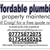 affordable plumbing and property mainntenance