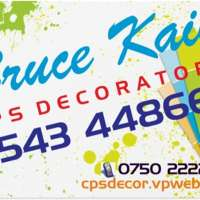 Bruce Kain t/a  ....... CPS Decorators