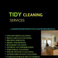 TIDY CLEANING SERVICES