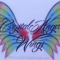 Crystal Angel wings  logo