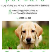 Comfy Paws Pet Care logo