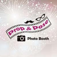 Prop & Pose Photo Booths logo