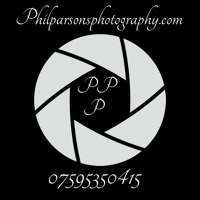 Phil parsons. Photography logo