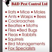 B and D Pest Control LTD