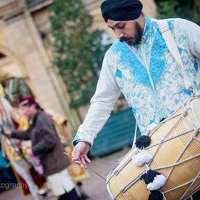 dhol players in Manchester/Bradford/Blackburn/Nelson/Halifax/Dewsbury/Accrington/Bolton/Burnley 07706272481 logo