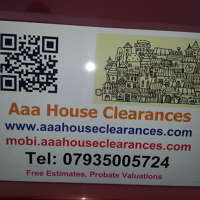 aaa house  clearances  logo
