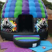 moonys bouncy castles  logo