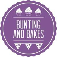 Bunting and Bakes logo