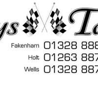 Tinys Taxis logo