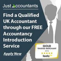 Just Accountants logo