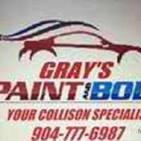 Gray's Paint & Body logo