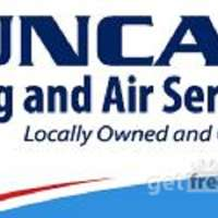 Duncan Heating and Air Services logo