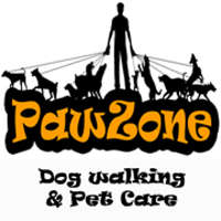 PawZone - Dog Walking & Pet Care logo