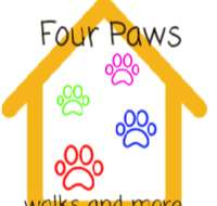 Four Paws walks and more logo