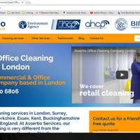 Assertio Office Cleaning Company London logo
