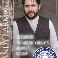 Andy Larmouth - Magician logo