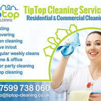 TIP TOP CLEANING SERVICES logo
