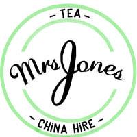Mrs Jones Tea and China Hire logo