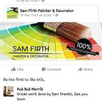 sam's touch painting and decorating logo