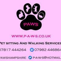 PAWS Pet sitting And Walking Services logo