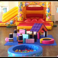ABC Bouncy Castle & Soft Play Hire logo