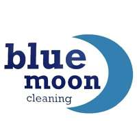 Blue moon window cleaning  logo