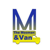 The Moo man and Van logo