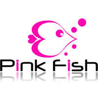 Pink Fish Design  logo
