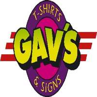 Gav's T-Shirts & Signs logo