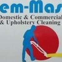 Chem-Master carpet and upholstery cleaning service logo