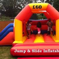 Jump and Slide Inflatables logo