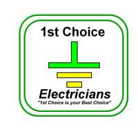 1st Choice Electricians logo
