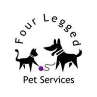 Four Legged Pet Services logo