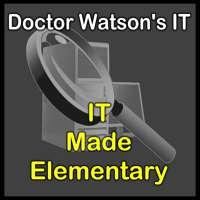 Doctor Watson's IT logo